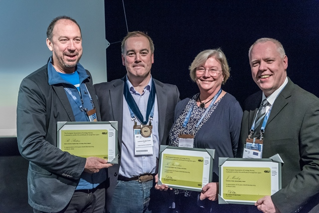From left: Ronny Pieters (Belgium), Lawrence Drudge-Coates (Past EAUN Chair), Karin Stenzelius (Sweden), Jerome Marley (Ireland)